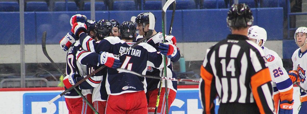 Big Third Period Carries Pack to Win in Opener