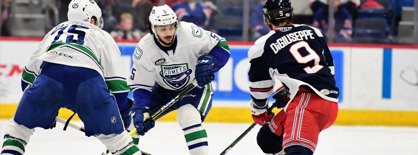 DiGiuseppe, Huska Lead Pack to Victory over Comets