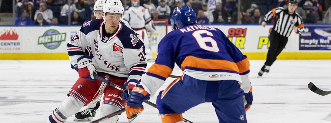 Fontaine's Shorthander, Assist Help Wolf Pack Topple Sound Tigers