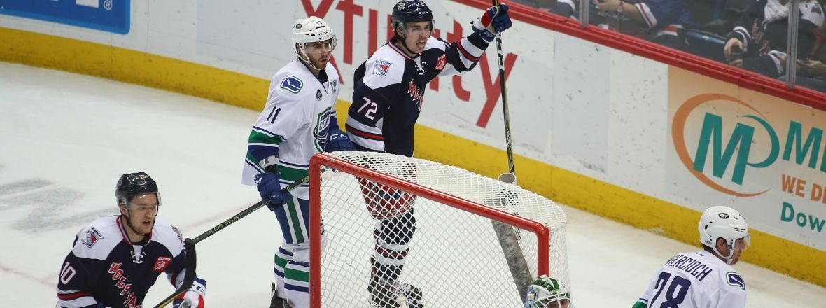 Chytil Scores in OT to Beat Comets, 3-2