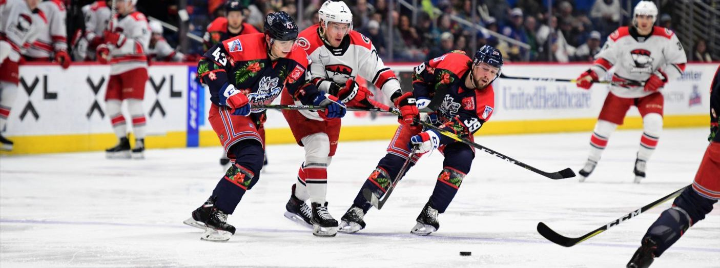 Pack Head into Break with 5-2 Home Loss to Charlotte
