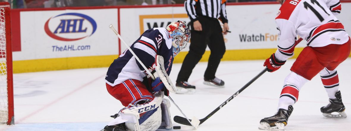 Georgiev, Wolf Pack Blank Checkers for fifth Straight Win