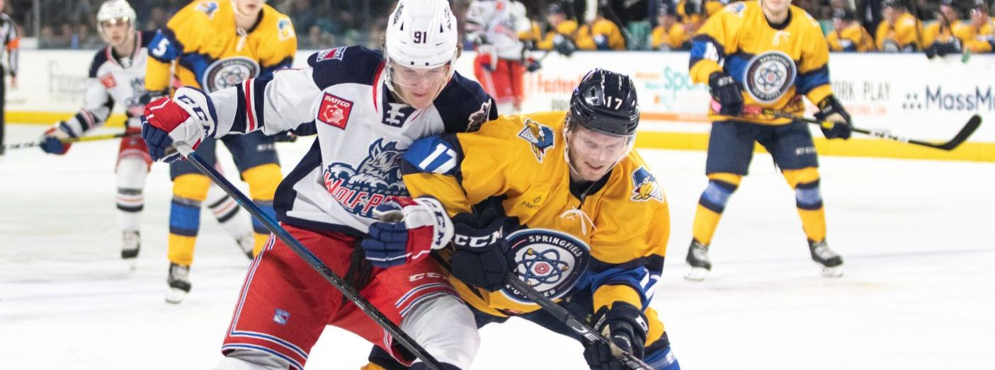 Wolf Pack Unable to Solve Springfield Netminder