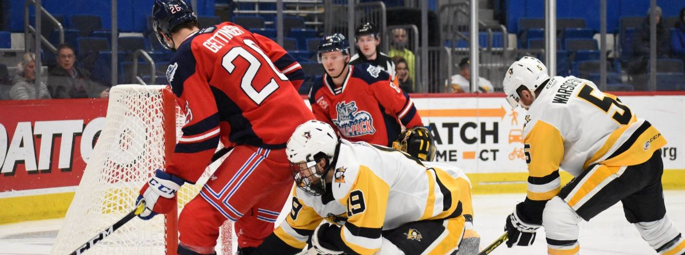 Home Win Streak Ends in Loss to Penguins