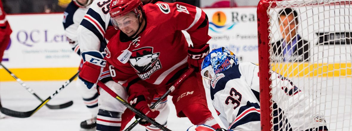 Schneider Nets two, but Wolf Pack can't Hold off Checkers