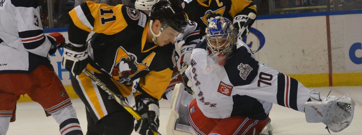 Pack Downed 8-1 in Wilkes-Barre
