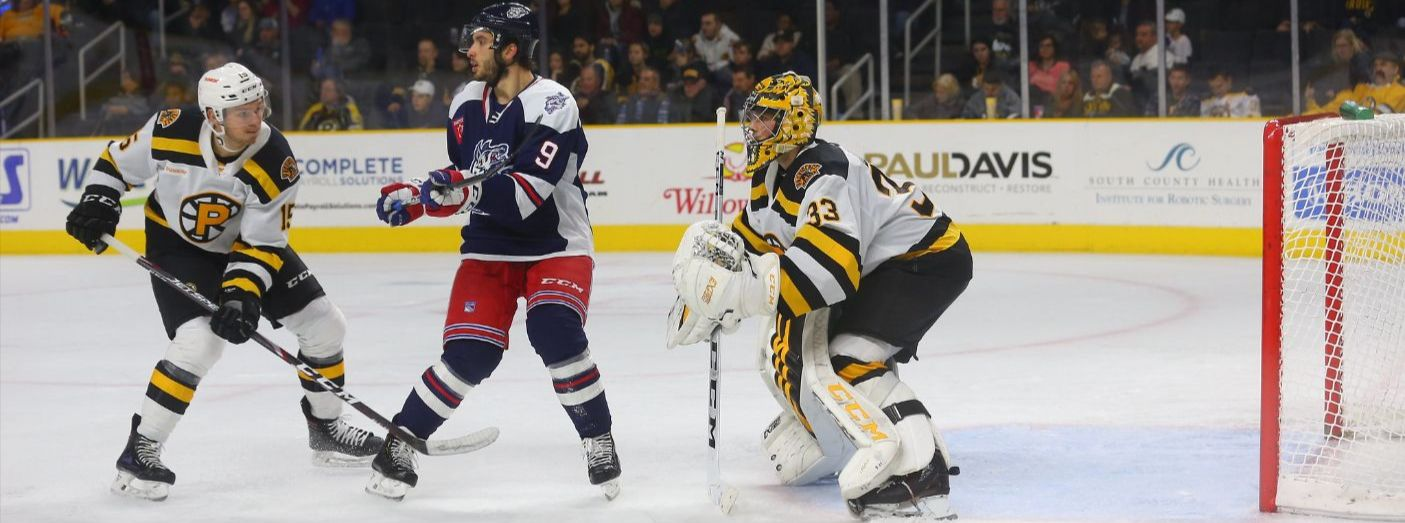 Wolf Pack Earn a Point with Late Comeback in Providence