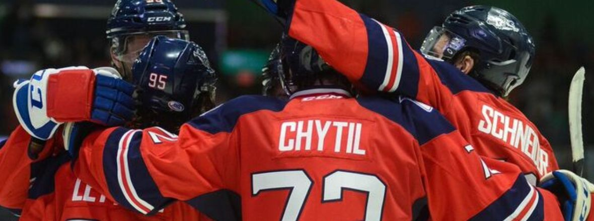 Chytil, Lettieri Pace Wolf Pack Victory