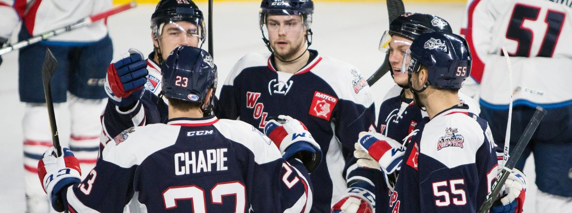 Thunderbirds double up Wolf Pack, 4-2