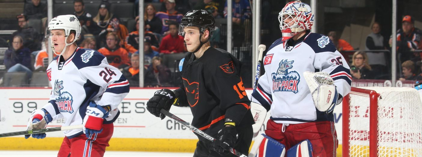 Loss at Lehigh Valley Ends Wolf Pack Win Streak