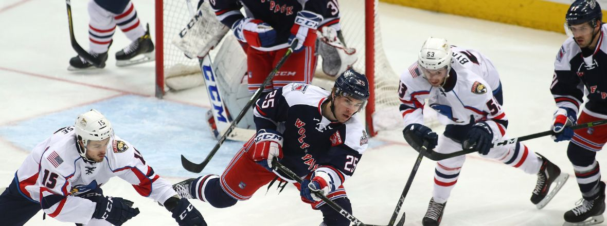 Late Springfield Goal Stuns Pack, 5-4