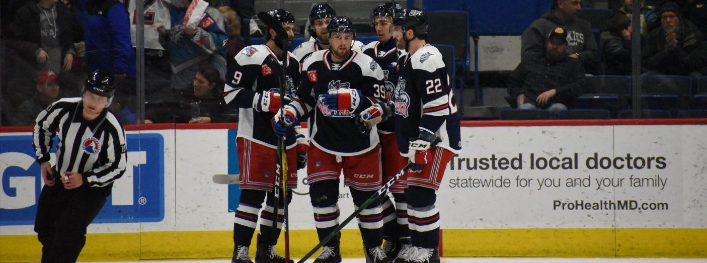 Wolf Pack Finish 2019 with Win over Sound Tigers