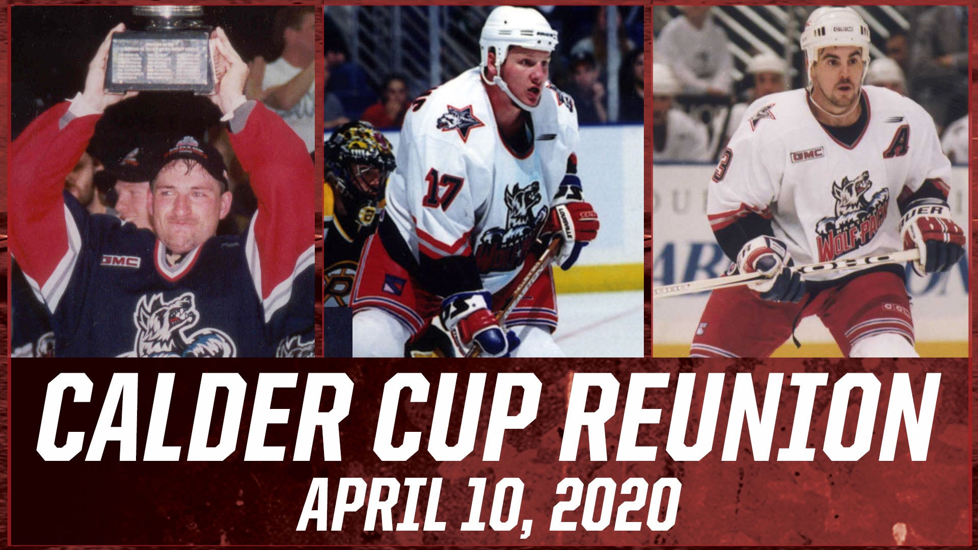 Wolf Pack to host Calder Cup Reunion Friday, April 10