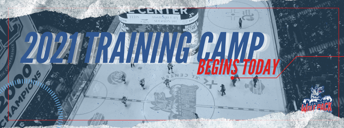 WOLF PACK ANNOUNCE TRAINING CAMP SCHEDULE & ROSTER