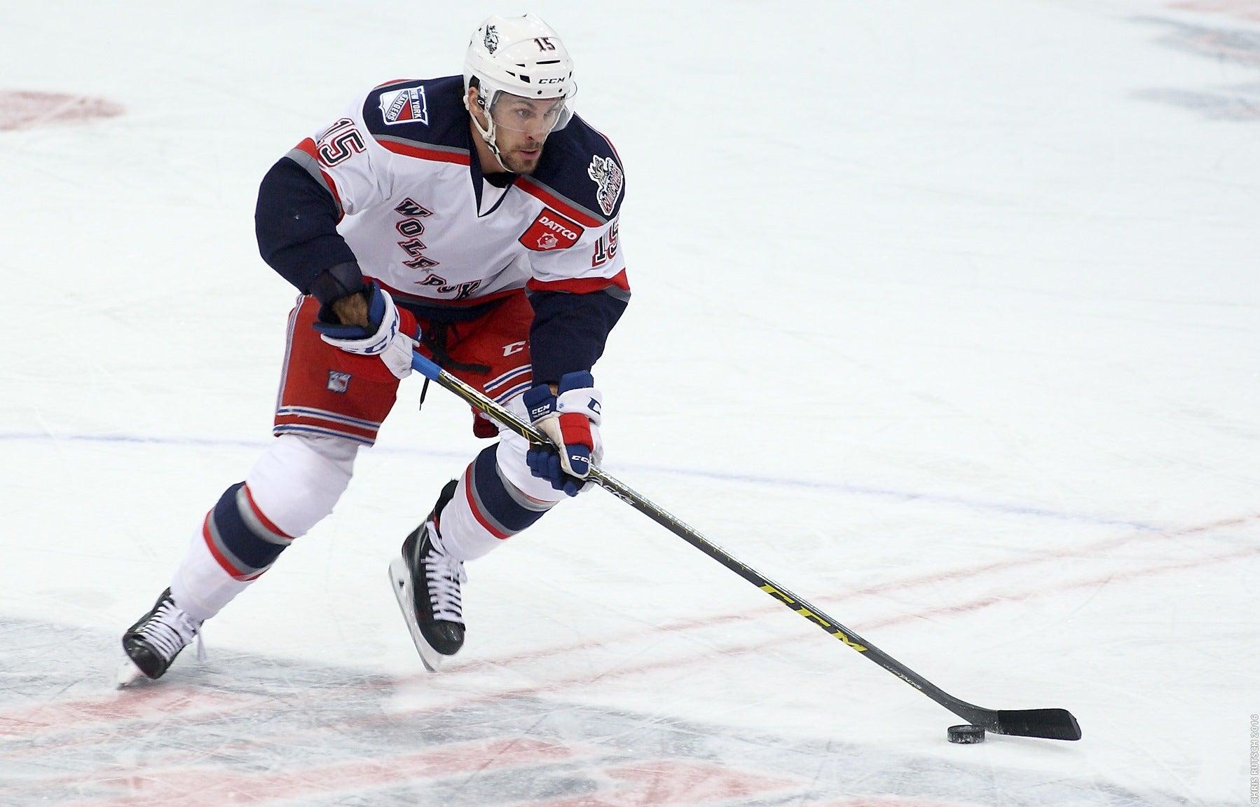 Rangers Recall Hrivik, Assign Daniel Paille
