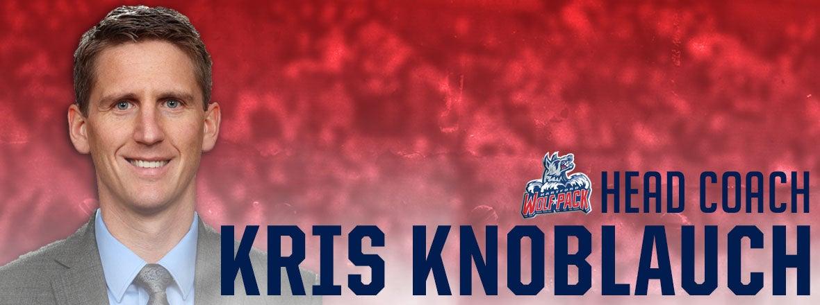 Kris Knoblauch Named Wolf Pack Head Coach