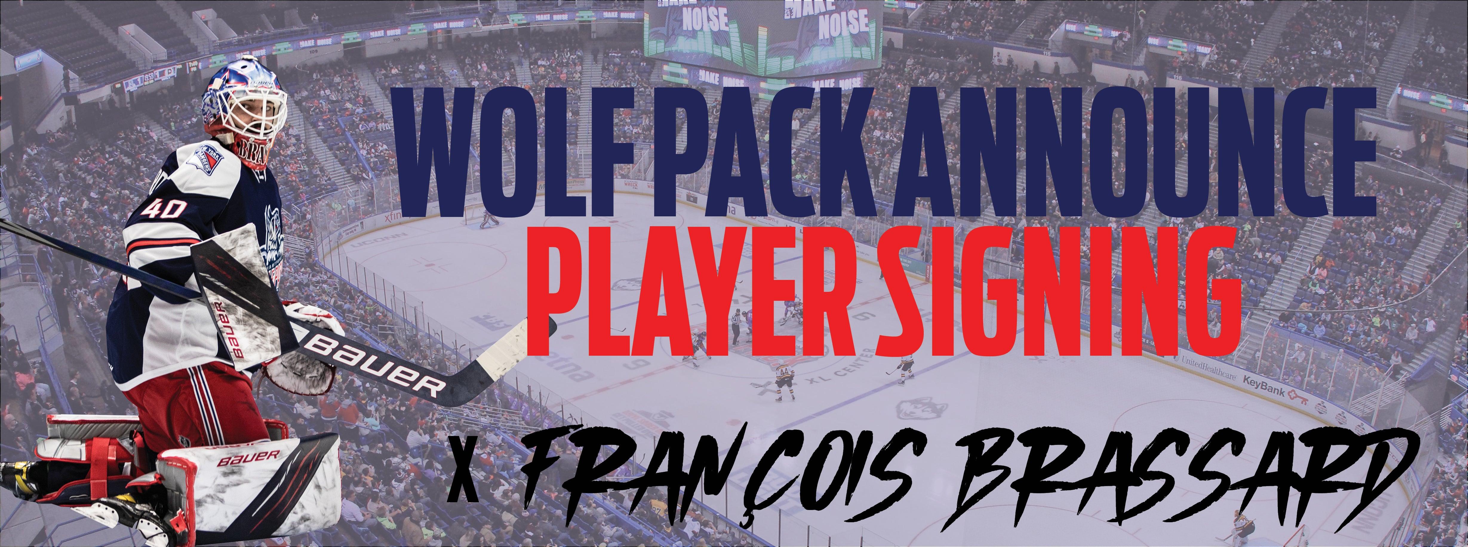 Wolf Pack sign goaltender