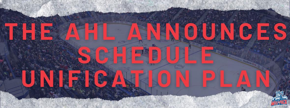 AHL Announces Schedule Unification Plan