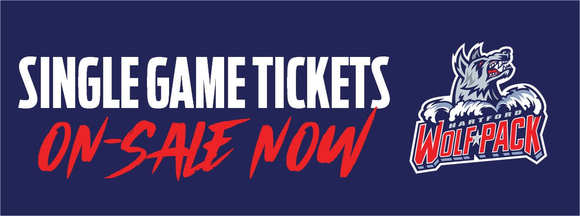 Single Game Tickets On-Sale Now!