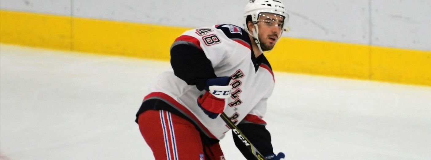 Wolf Pack Recall Jeff Taylor from Maine