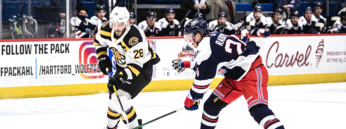 Bruins Down Wolf Pack, 6-1