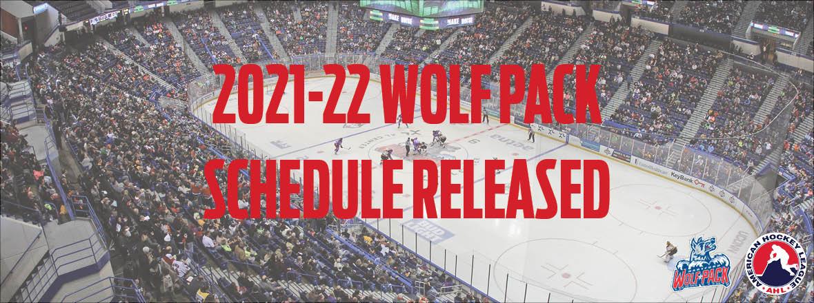 2021-22 Hartford Wolf Pack Schedule Released