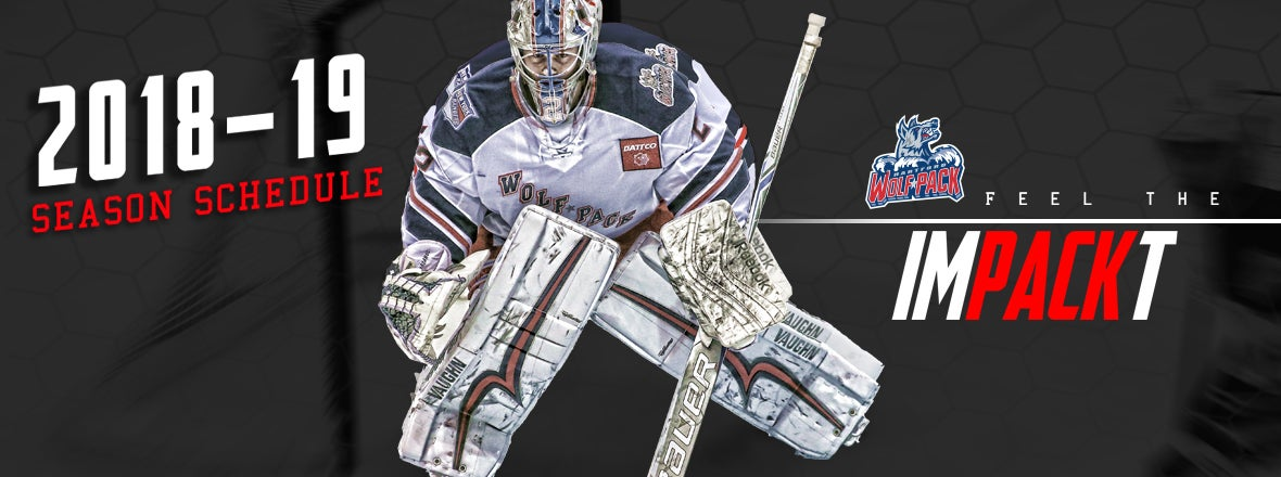 3de64b5eb Wolf Pack Announce 2018-19 Game Schedule | Hartford Wolf Pack